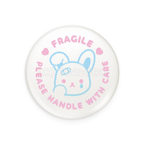Fragile Bunny Badge