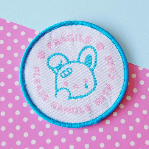 Fragile: Handle with Care ~ Iron-On Patch