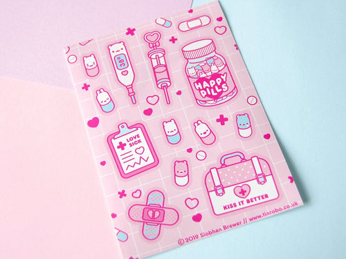 Happy Pills Sticker Sheet