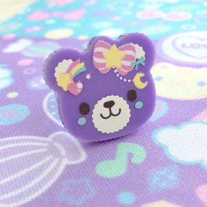 Sweet Bear ~ Brooch or Ring