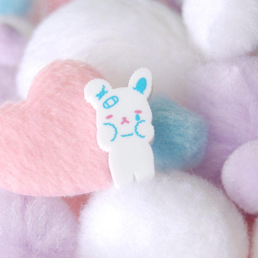 Crying Little Bunny Pin