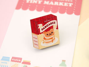 Honey Bear Pancake Mix Wooden Pin