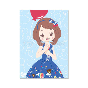 Ochako Happy Balloon ~ A5 Print