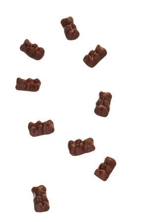 dark chocolate gummy bears