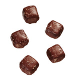 sugar free dark chocolate sea salt caramels