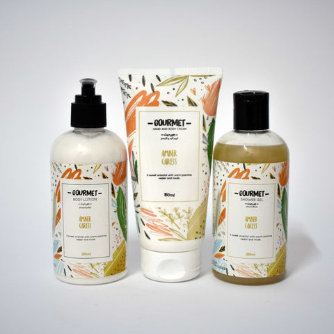 Gourmet Amber Caress Bundle - 3 Pcs