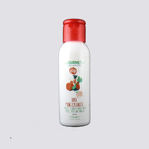 Gourmet Hand & Body Cream - Dark Pomegranate - 60ml