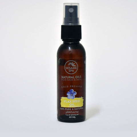 Flax Seed Oil 100% Pure and Natural