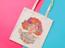 Load image into Gallery viewer, BeYOUtiful tote bag - Annie's Fingers