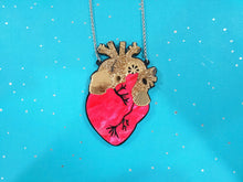 Load image into Gallery viewer, Heart necklace Cherry - Annie's Fingers