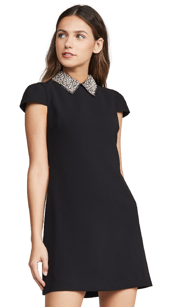 Alice + Olivia - Coley Dress - Black/Silver