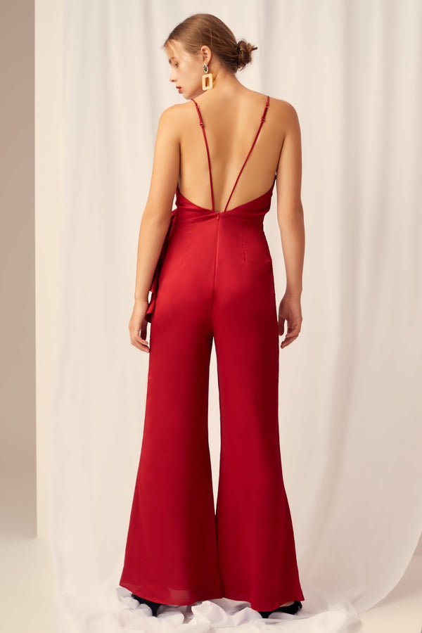 Keepsake - Breathe Jumpsuit - Red