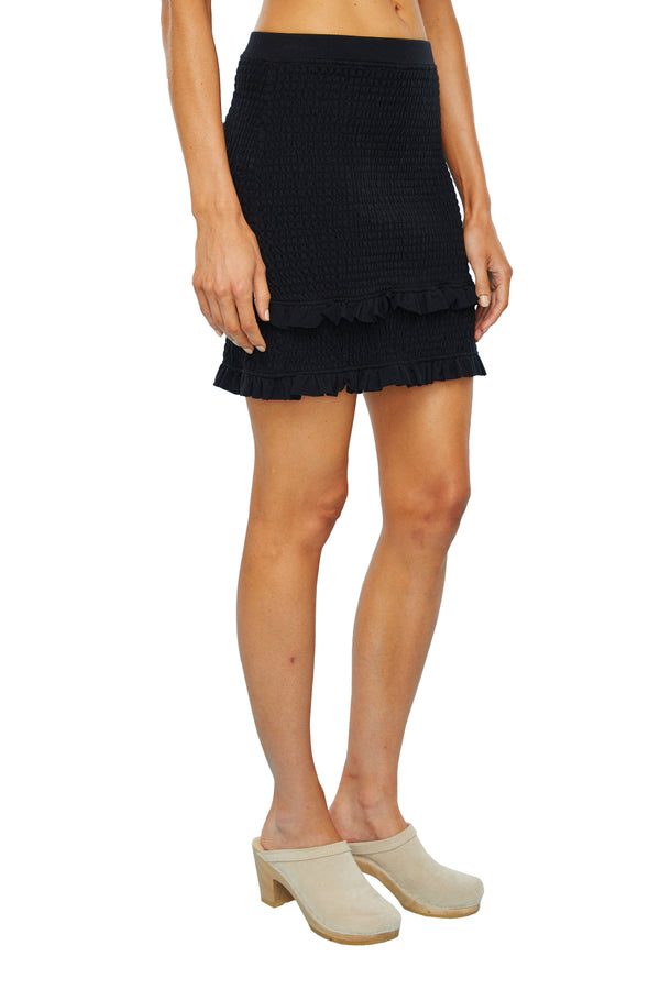 SUNDAY'S GENESEE SKIRT - BLACK