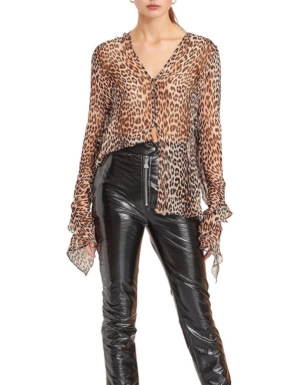 Bec & Bridge - Kitty Kat Shirt - Leopard Print