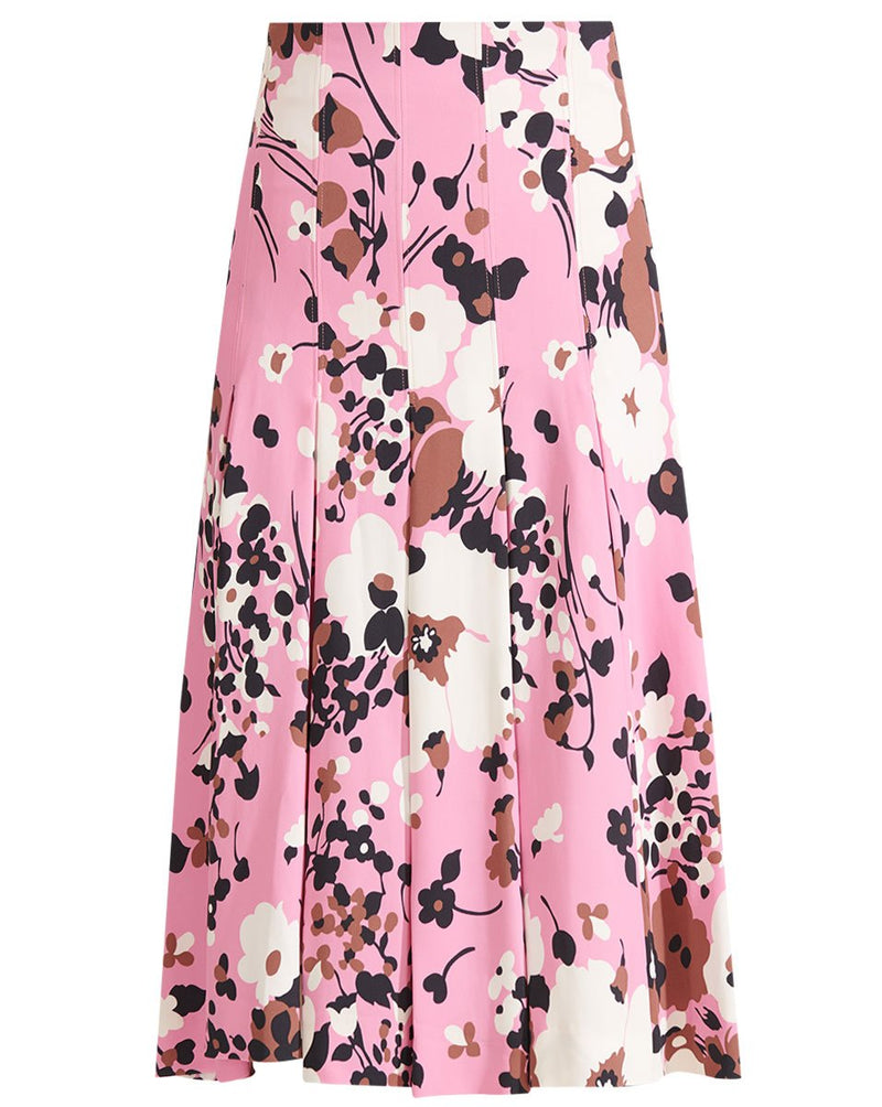 Veronica Beard - Sania Skirt - Pink Multi