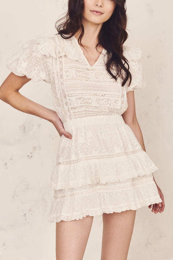 Loveshackfancy Sorelle Dress - White