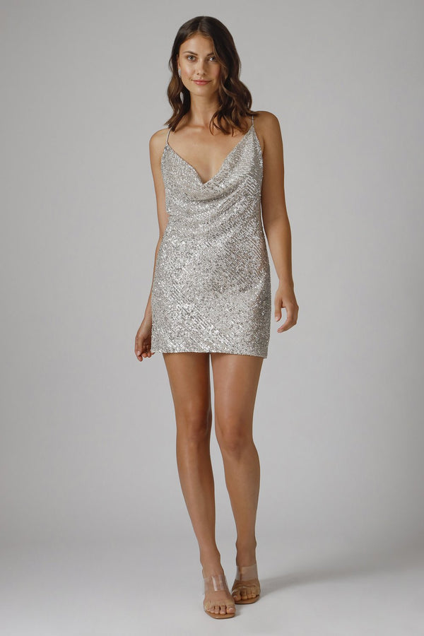 Jay Godfrey - Baldwin Dress - Silver