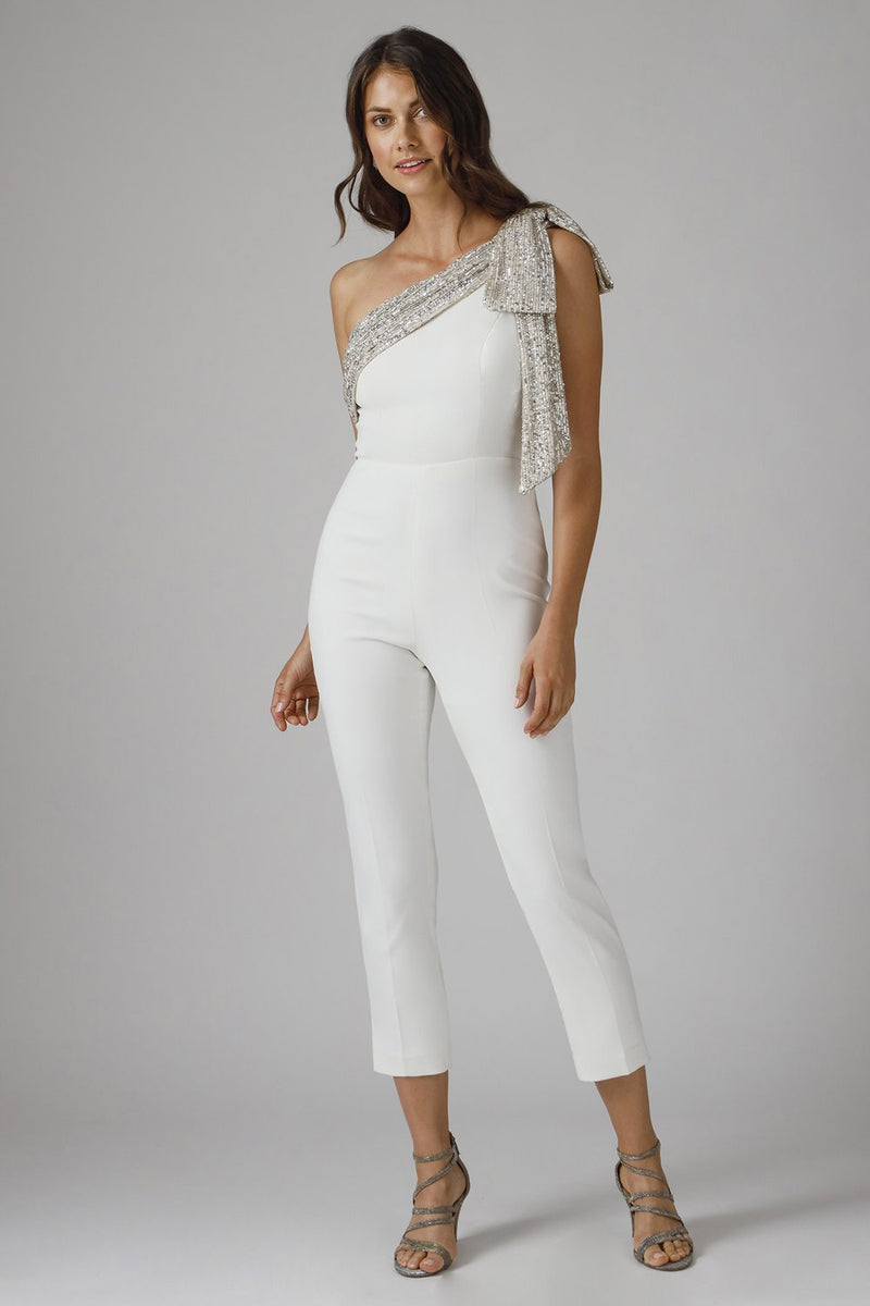JAY GODFREY - GAVIN ONE SHOULDER JUMPSUIT