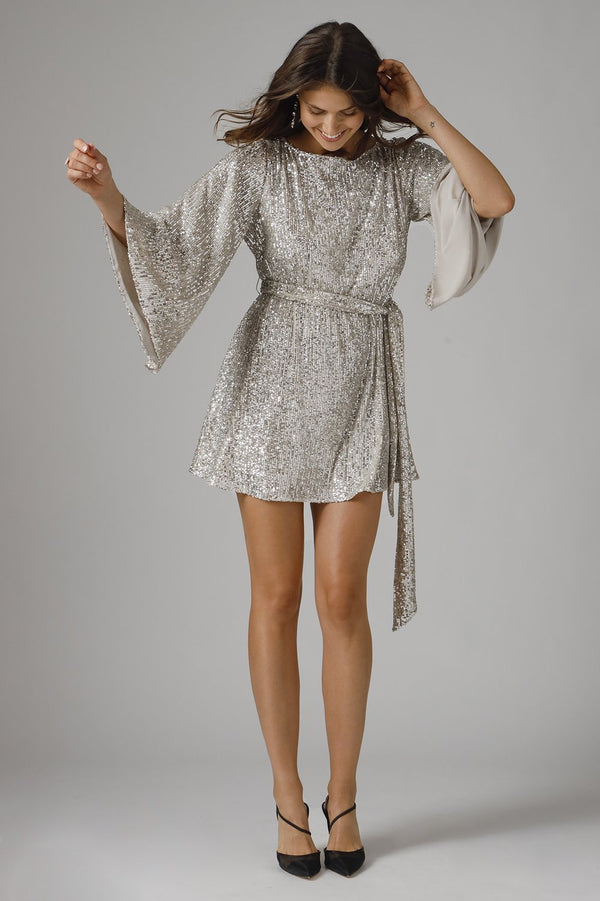 Jay Godfrey - Maggie Dress - Silver