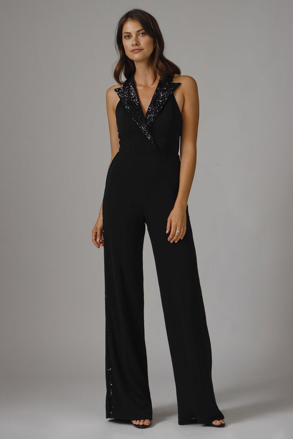 Jay Godfrey - Pierce Jumpsuit - Black
