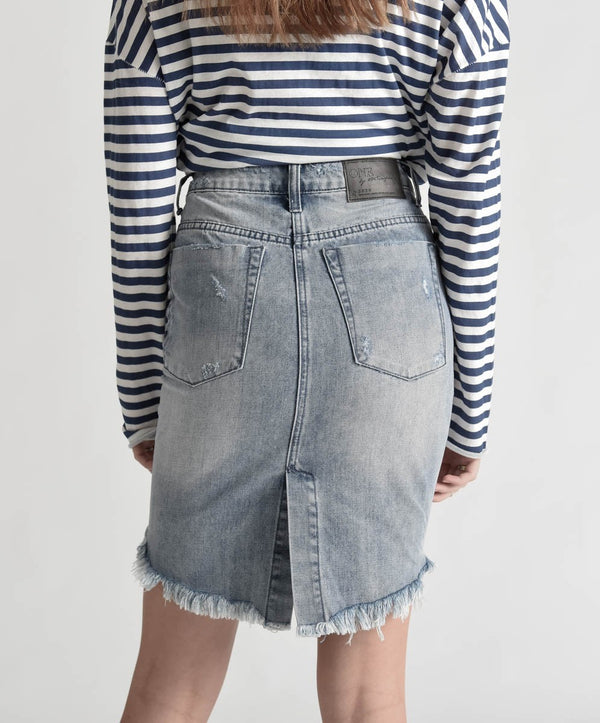 One Teaspoon - 2020 h/w denim skirt - Rocky
