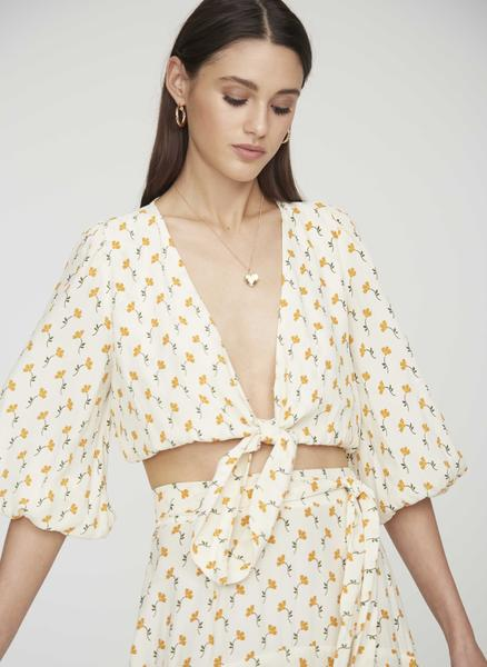 Faithfull The Brand - La Guardia Top - Marje Floral Print