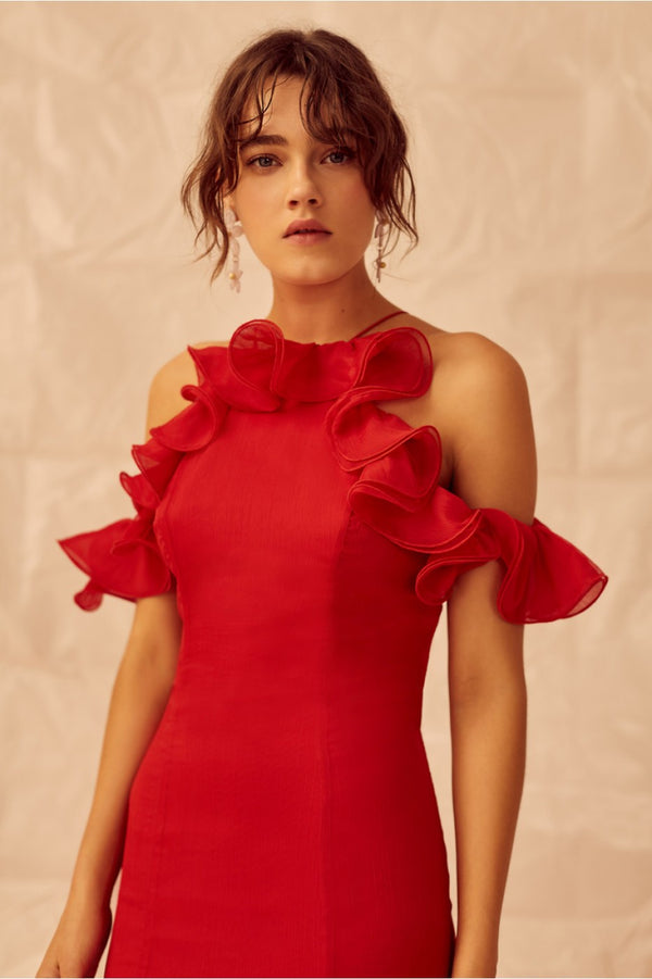 Keepsake - Embrace Gown - Rouge