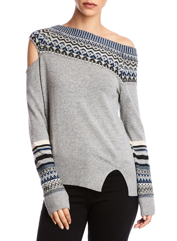 Bailey 44 - Fannie Sweater - Heathergrey
