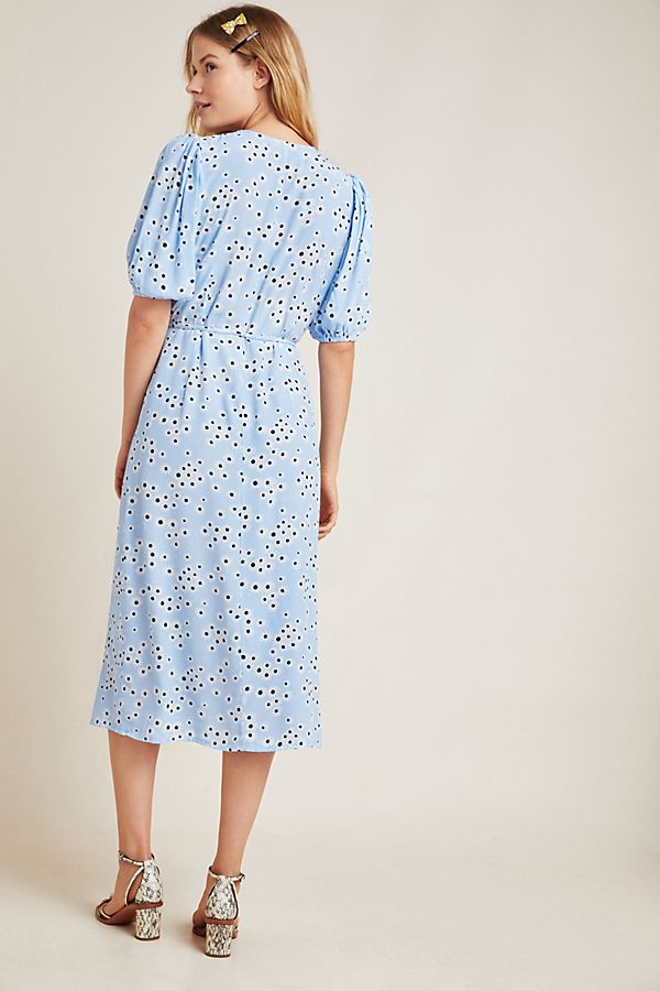 Faithfull The Brand - Marta Midi Dress - Essa Floral Print Rivera Blue