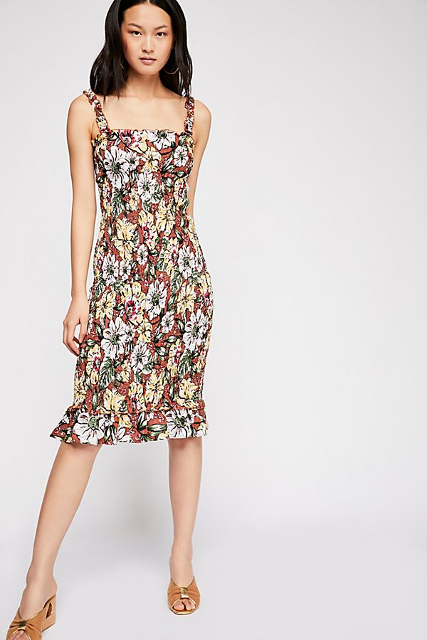 Faithfull The Brand - Maya Midi Dress - Cuba Libre