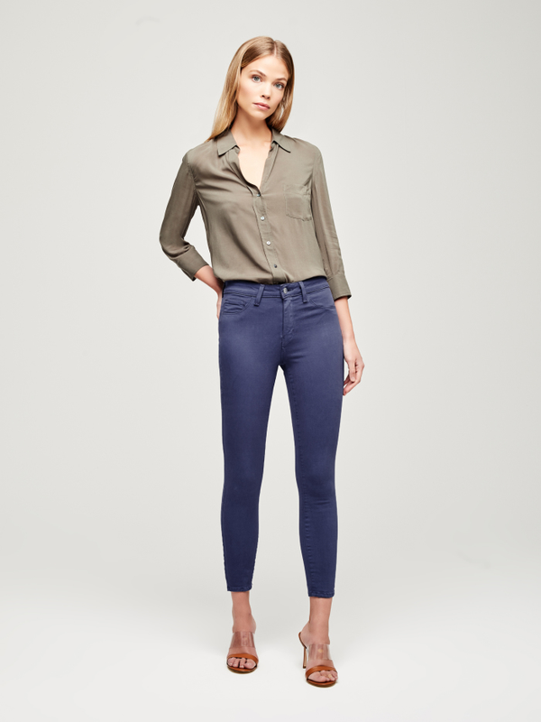 L'AGENCE - MARGOT - HIGH RISE SKINNY - SEA BLUE