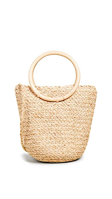 Hat Attack  - Mini Bangle Bag - Natural
