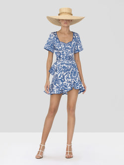 Alexis - Berenna Dress - Tropical Blue