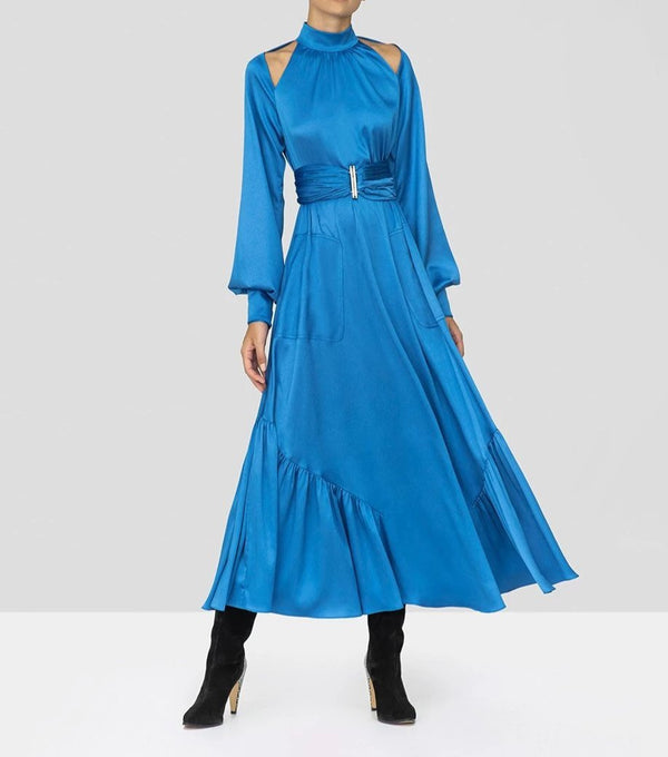 Alexis - Calypsa Dress - Azure Blue
