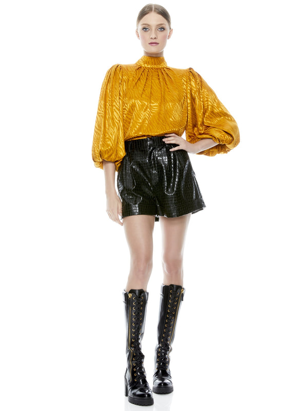 ALICE + OLIVIA - Conry- Vegan Leather Cuff Short