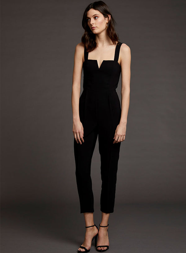 Amanda Uprichard - Nia Jumpsuit - Black