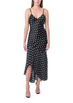 CAMI NYC - THE SANDRA VINTAGE DOT DRESS - POLKA DOT