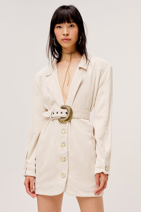 For Love & Lemons - Carson Blazer Dress - Ivory