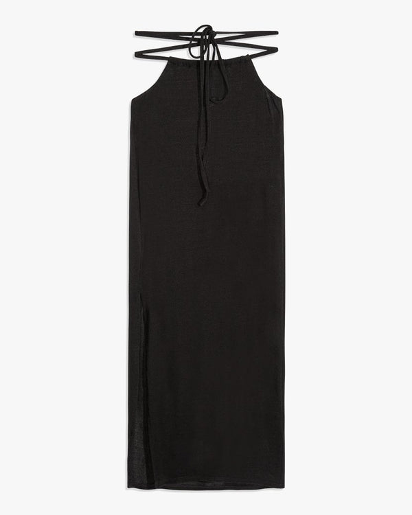 Weworewhat - Cutout Midi Skirt - Black