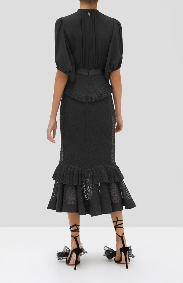 ALEXIS - DILARRA DRESS - BLACK
