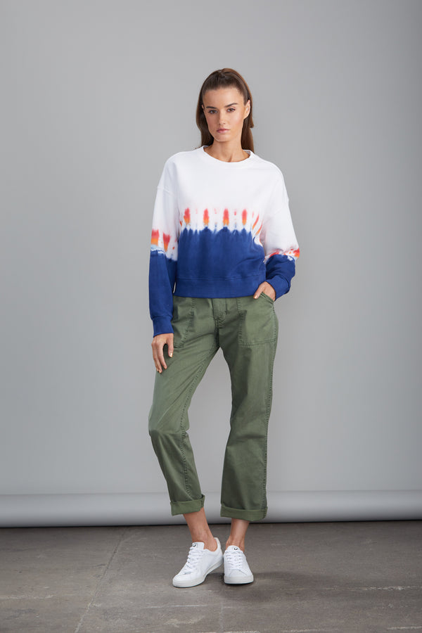 Sundays NYC Delano Pullover- Rainbow Wash