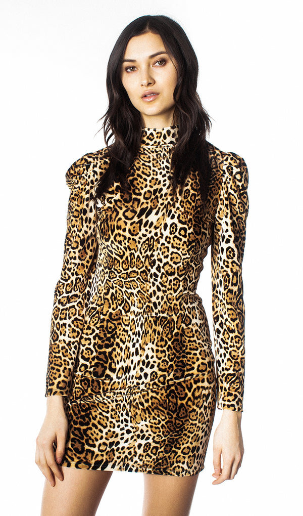 Generation Love - Adeline Dress - Leopard