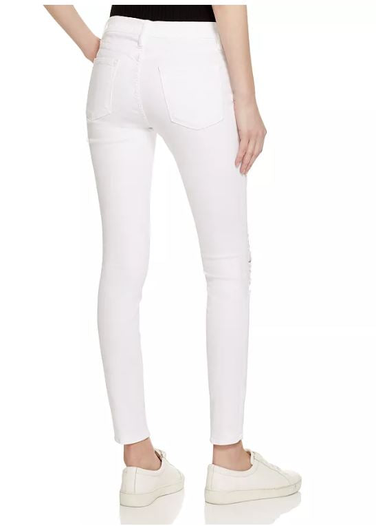 Frame Denim - Le Color Ripped - Blanc