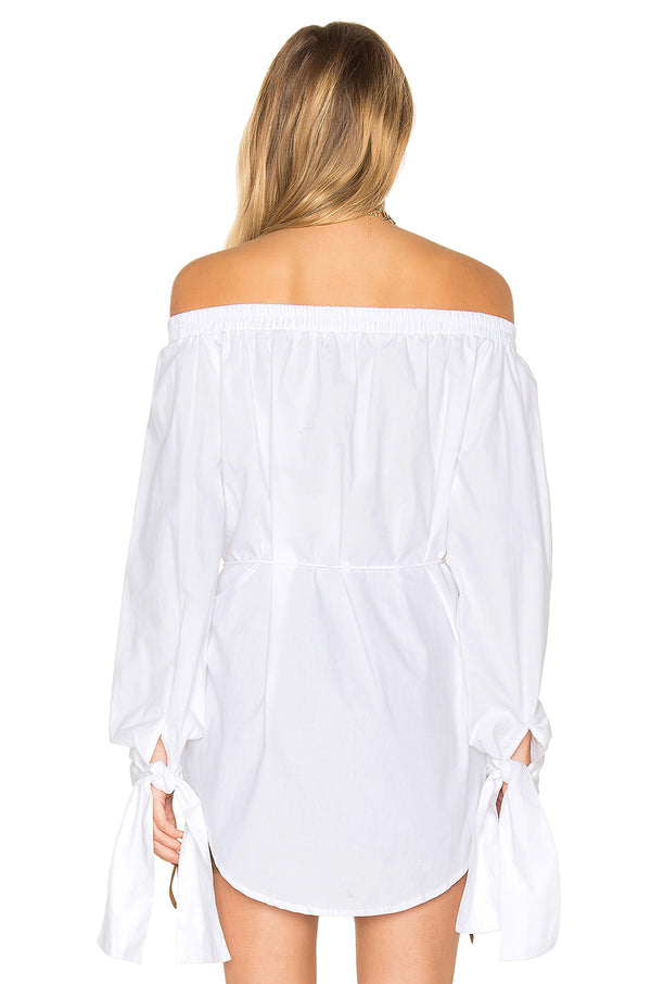 Faithfull The Brand- Polonia Top- Plain White