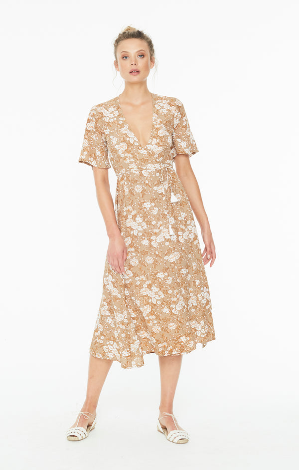 Faithfull The Brand - Rivera Midi Dress - Floral Print