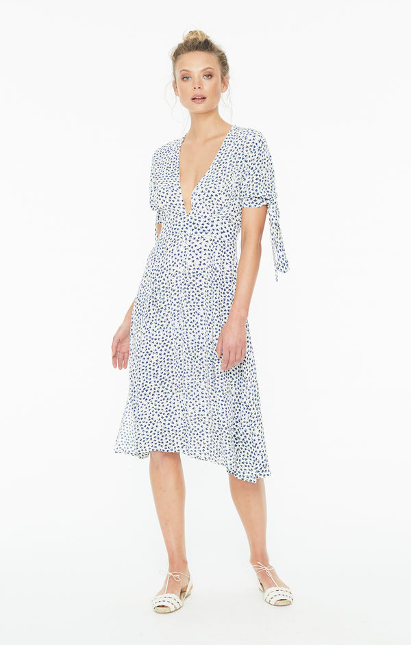 Faithfull The Brand - Nina Midi Dress - Rae Floral Print