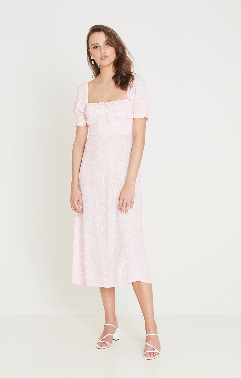 Faithfull The Brand - Evelyn Midi Dress - Dusty Floral