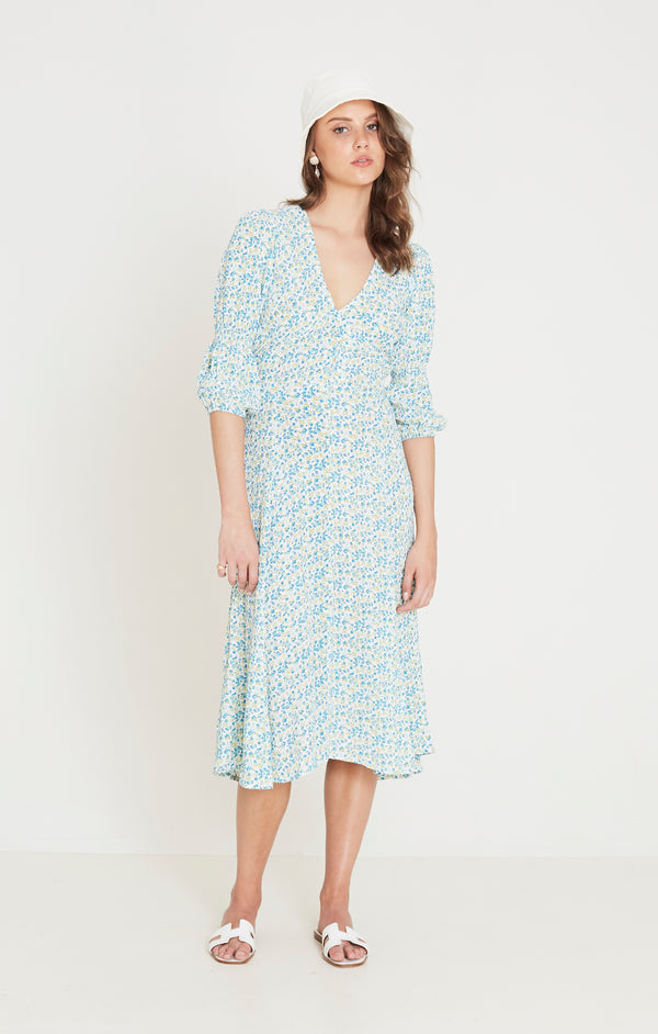 Faithfull The Brand - Maud Midi Dress - Tilde Floral