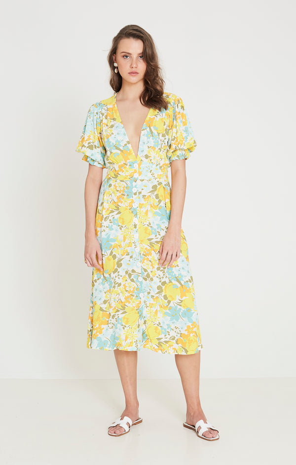 Faithfull The Brand - Rafa Midi Dress - Annina Floral