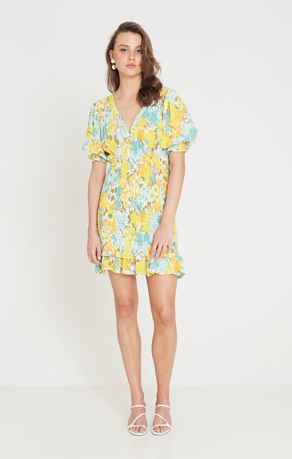 Faithfull The Brand - Margherita Mini Dress - Annina Floral
